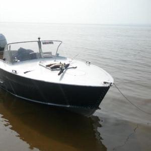 Продаётся моторная лодка Прогресс 2М + Honda BF25 четырёхтактный