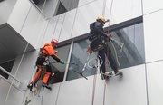 Промышленный альпинизм,  покраска фасадов
